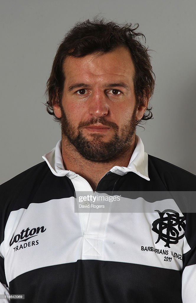 Carl Hayman of the Barbarians poses for a portrait at Richmond Athletic Ground on May 25, 2011 in Richmond upon Thames, England.