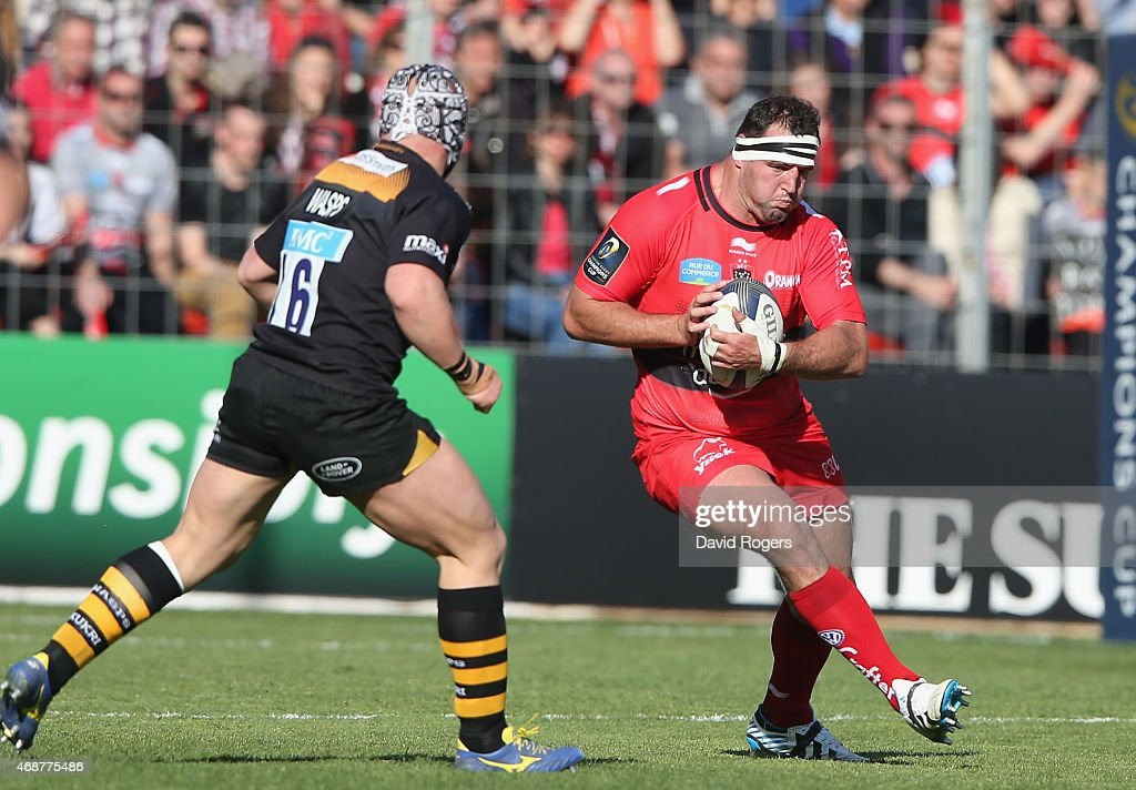 RC Toulon v Wasps - European Rugby Champions Cup Quarter Final