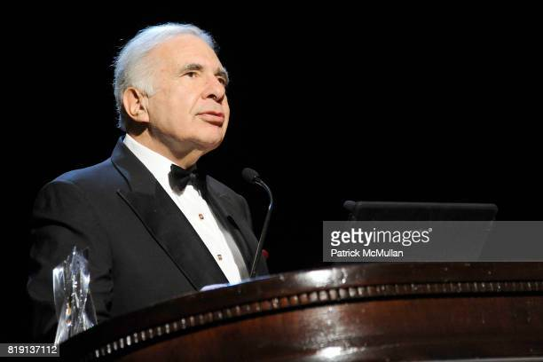 Carl Icahn attends NEW YORK CITY POLICE FOUNDATION 32nd Annual Gala at Waldorf=Astoria on March 16 2010 in New York City