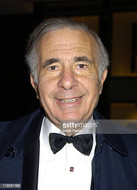 Carl Icahn during Lincoln Center for the Performing Arts Spring Gala March 30 2005 at The Rose Theatre at the Time Warner Center in New York City New...