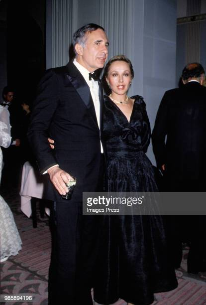 Carl Ichan and wife Liba Icahn at the Boys Town of Italy Dinner circa 1989 in New York