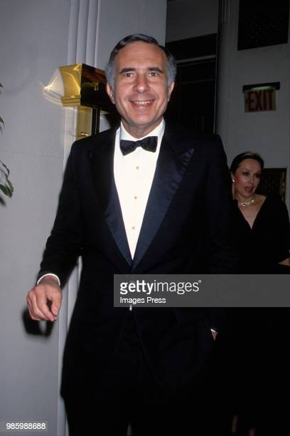 Carl Ichan at the Boys Town of Italy Dinner circa 1989 in New York