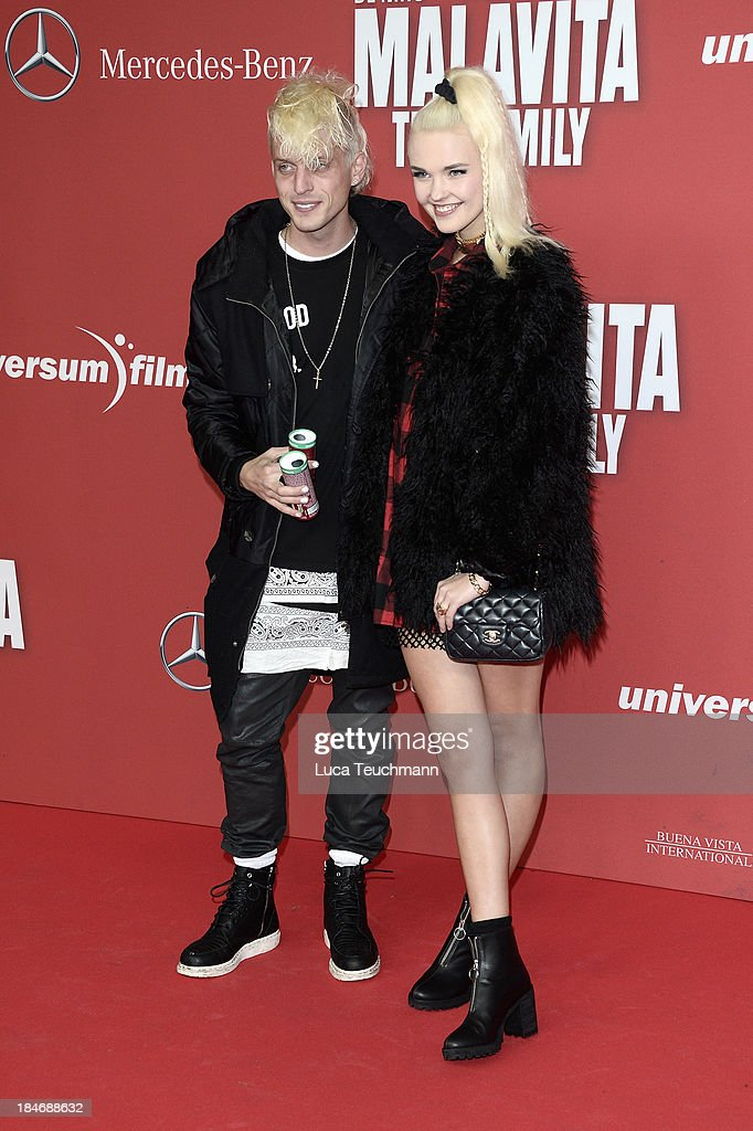 Carl Jakob Haupt And Bonnie Strange Attend The Malavita The