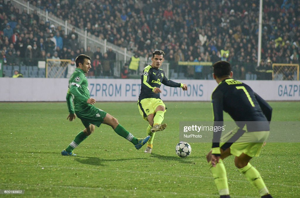 Ludogorets Razgrad v Arsenal FC - UEFA Champions League : News Photo