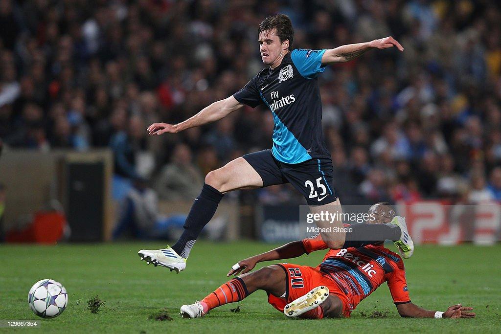 Olympique de Marseille v Arsenal FC - UEFA Champions League