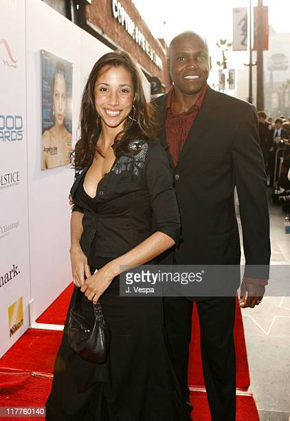 Carl Lewis and guest during Movieline's Hollywood Life 8th Annual Young Hollywood Awards Red Carpet at Music Box at the Fonda in Hollywood California...