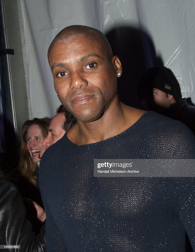 Carl Lewis during Gap Holiday Hollywood Hi-Fi Celebration at Les Deux Restaurant in Hollywood, California, United States.