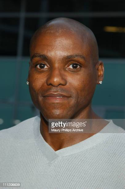 Carl Lewis during 'Martin Lawrence Live Runteldat' World Premiere at ArcLight Cinemas in Hollywood California United States