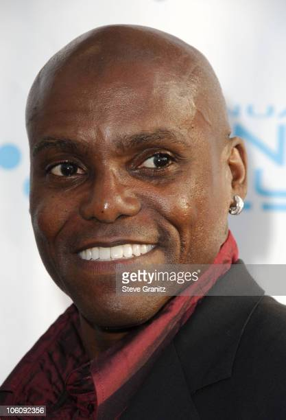Carl Lewis during Movieline's Hollywood Life 8th Annual Young Hollywood Awards Arrivals at Music Box at The Fonda in Los Angeles California United...
