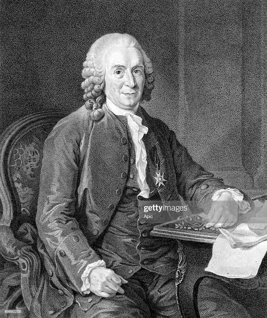 Carl Linnaeus, also known as Carl von Linne (1707-1778) swedish scientist botanist