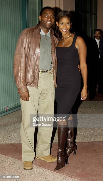 Carl Lumbly Merrin Dungey during ATAS Presents Behind The Scenes of 'Alias' at The Academy of Television Arts Sciences in North Hollywood California...
