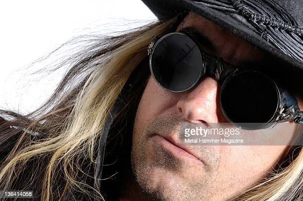 Carl McCoy of English gothic rock band Fields of the Nephilim during a portrait shoot on May 23 2008