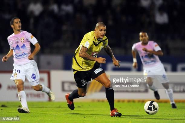 Carl MEDJANI - - - Evian Thonon Gaillard / Ajaccio - 6eme journee de Ligue 2 - Parc des Sports d Annecy -
