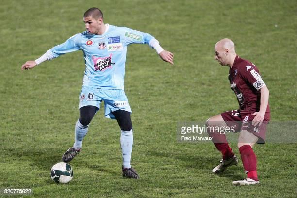 Carl MEDJANI - - Metz / Ajaccio - 23eme journee de Ligue 2,