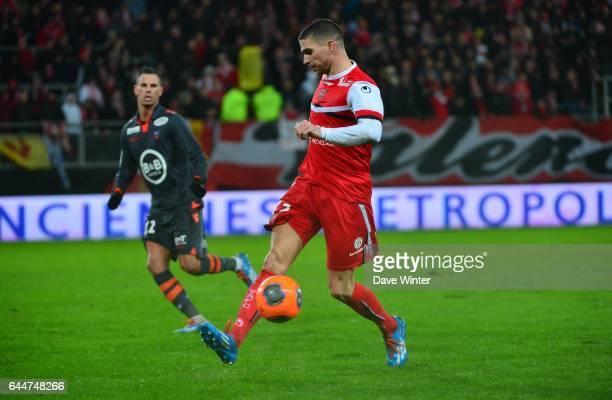 Carl MEDJANI - - Valenciennes / Lorient - 22eme journee de Ligue 1 -, Photo : Dave Winter / Icon Sport