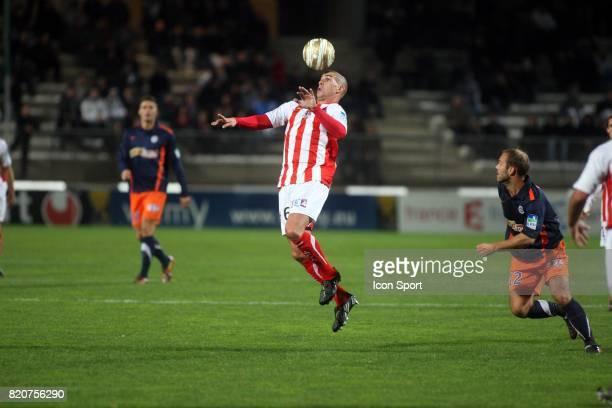Carl MEDJANI - - Montpellier / AC Ajaccio - Huitiemes de finale de la Coupe de la Ligue ,