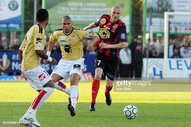 Carl MEDJANI / David VANDENBOSSCHE - - Boulogne / Ajaccio - 34eme journee de Ligue 2,
