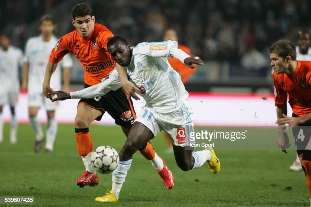 Carl MEDJANI / Mamadou NIANG - Marseille / Lorient - - 12eme journee de Ligue 1 -