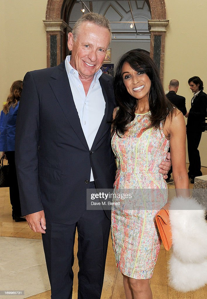 Carl Michaelson (L) and Jackie St Clair attend the preview party for The Royal Academy Of Arts Summer Exhibition 2013 at Royal Academy of Arts on June 5, 2013 in London, England.
