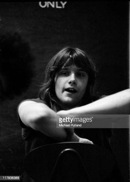 Carl Palmer of Emerson Lake and Palmer at the Guildhall, Portsmouth, UK, 30th March 1971.