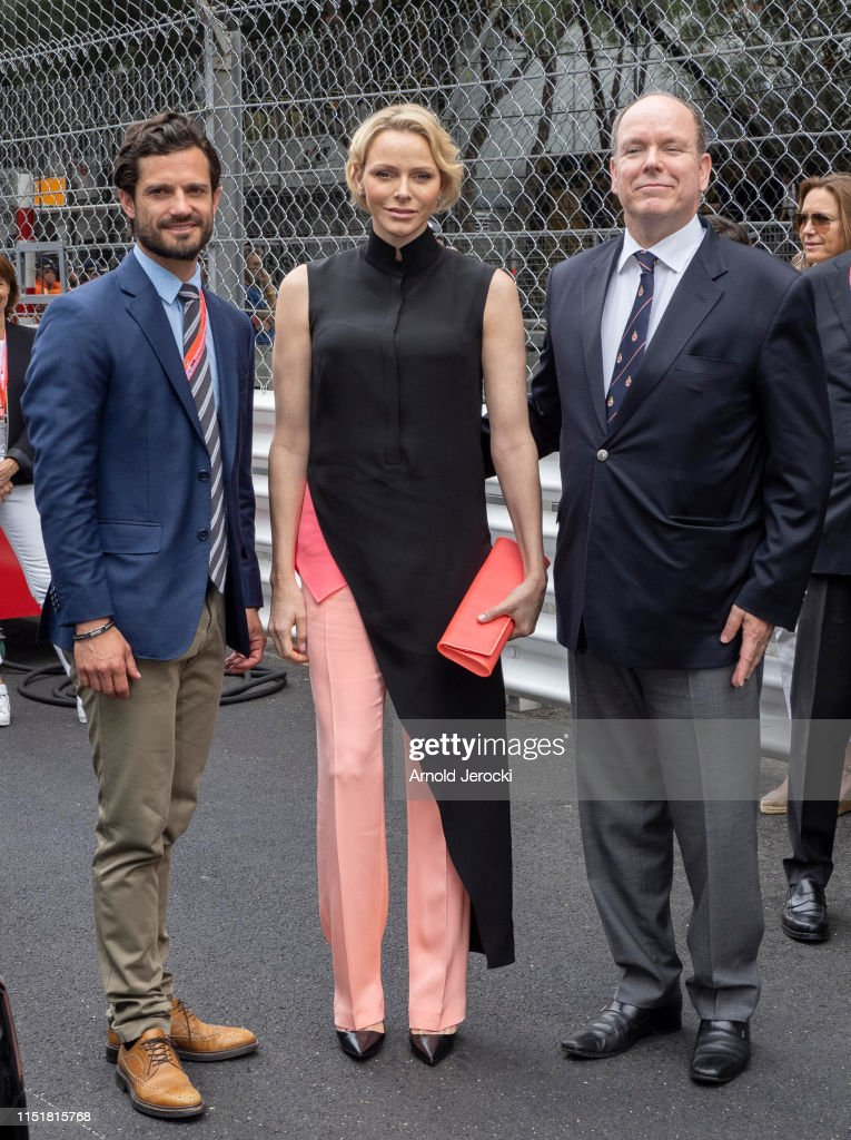 Celebrities At F1 Grand Prix of Monaco : News Photo