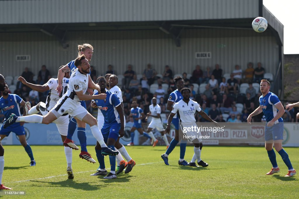 GBR: Borehamwood v Salford City - Vanarama National League