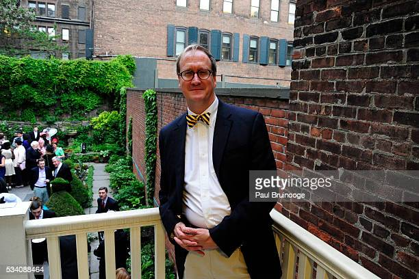Carl Raymond attends Historic Royal Palaces Patrons Secret Garden Party at Merchant's House Museum on May 24 2016 in New York City