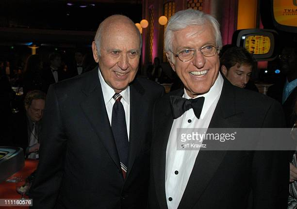 Carl Reiner and Dick Van Dyke during The TV Land Awards After Party at Hollywood Palladium in Hollywood CA United States