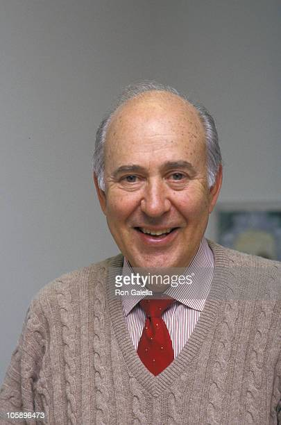 Carl Reiner during Carl Reiner Portrait Shoot - March 25, 1987 at Carl Reiner's Paramount Office in Los Angeles, California, United States.