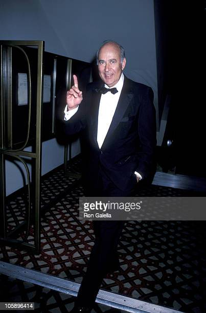 Carl Reiner during St Jude's Benefit January 1 1986 at Century Plaza Hotel in Century City California United States