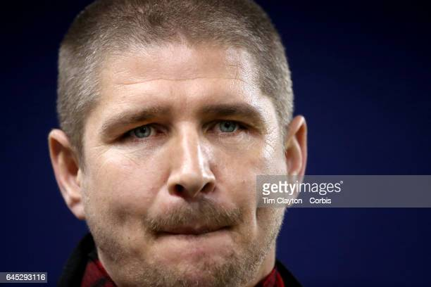 Carl Robinson head coach of the Vancouver Whitecaps FC during the New York Red Bulls Vs Vancouver Whitecaps FC CONCACAF Champions League match at Red...