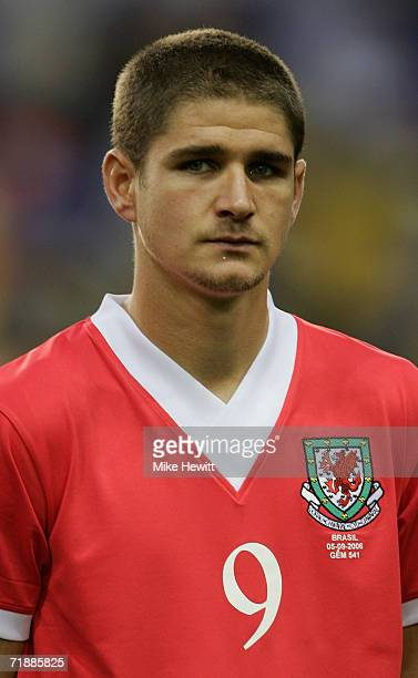 Carl Robinson of Wales prior to the International friendly match between Brazil and Wales at White Hart Lane on September 5 2006 in London