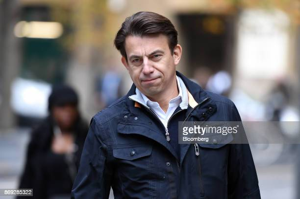 Carl Rogberg former finance director for Tesco Plc arrives at Southwark Crown Court in London UK on Thursday Nov 2 2017 A senior Tesco Plc...