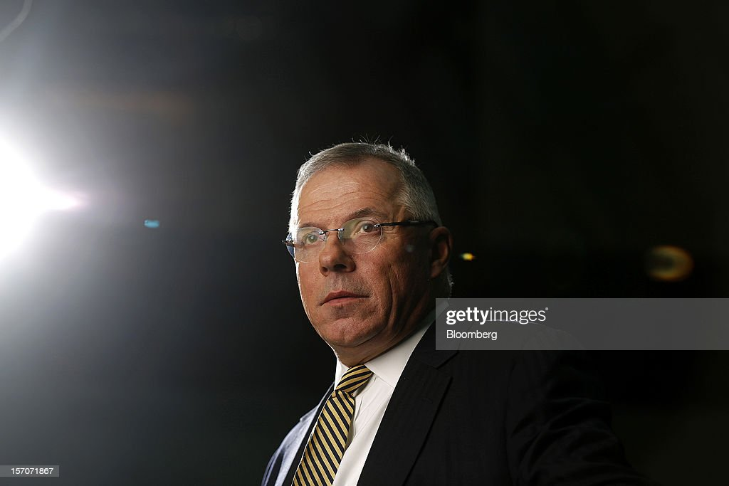 Carl Sheldon, chief executive officer of Abu Dhabi National Energy Co.(Taqa), poses for a photograph following a Bloomberg Television interview in London, U.K., on Wednesday, Nov. 28, 2012. Abu Dhabi National Energy Co. bought stakes in North Sea fields for $1.1 billion from BP Plc, the energy producer that's disposing of assets in the wake of the 2010 Gulf of Mexico oil spill. Photographer: Simon Dawson/Bloomberg via Getty Images