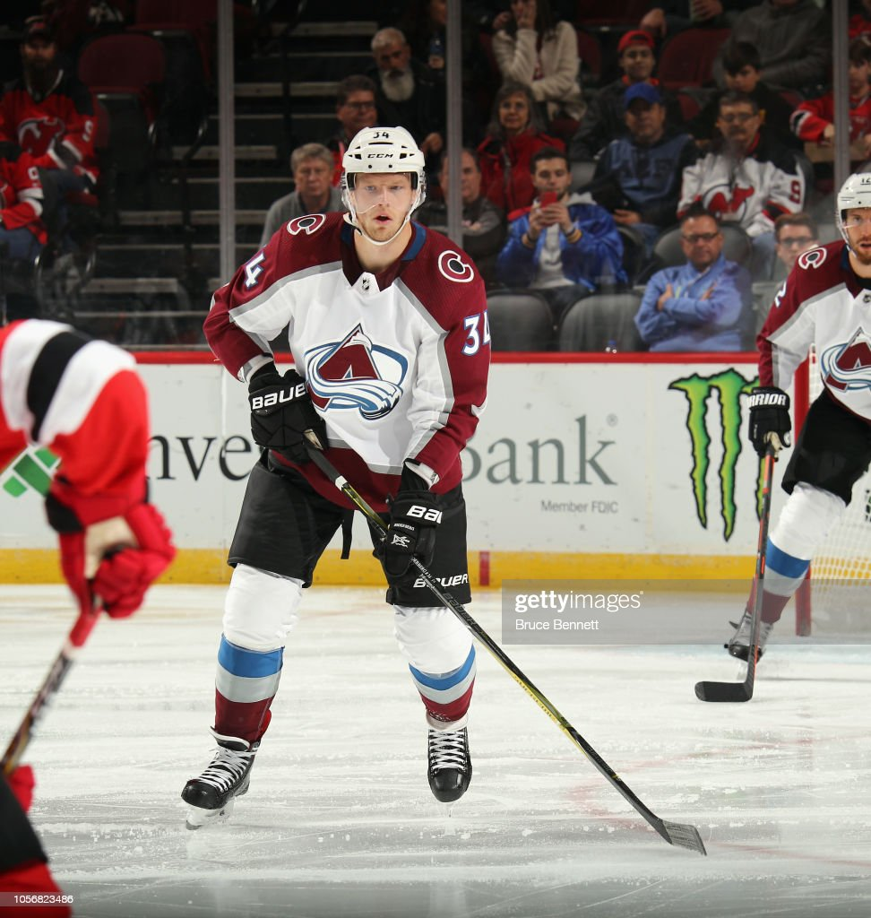 Colorado Avalanche v New Jersey Devils : News Photo