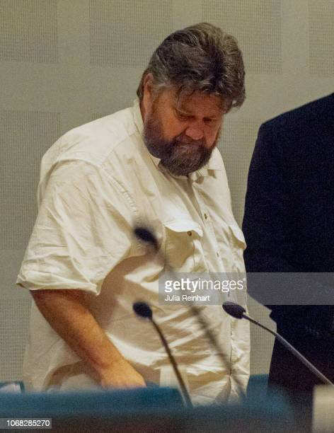 Carl Stephen Beech attends a hearing in Gothenburg District Court regarding his extradition to the UK Mr Beech a former nurse was charged and later...