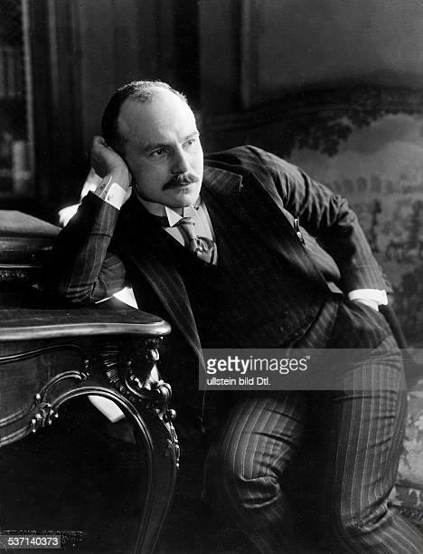 Carl Sternheim Schriftsteller D Porträt 1914