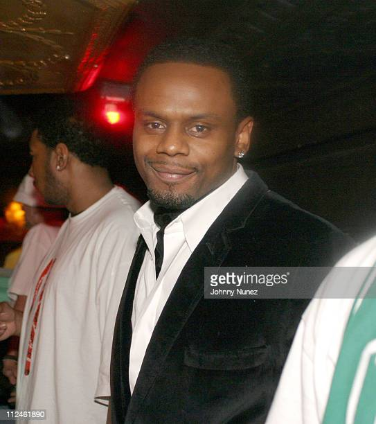 Carl Thomas during Carl Thomas' Let's Talk About It Album Release Party at Show in New York City New York United States
