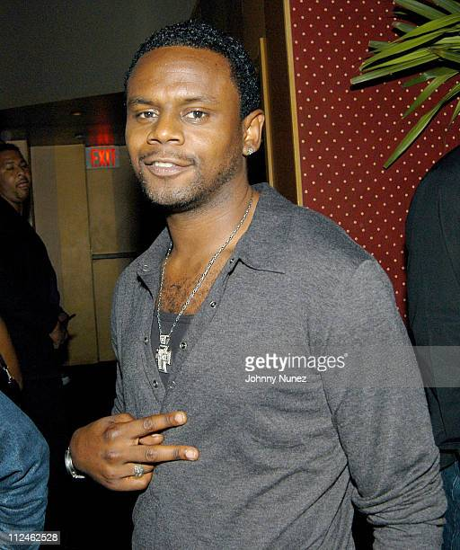 Carl Thomas during Direct Impulse's Blend Party at Lobby in New York City New York United States