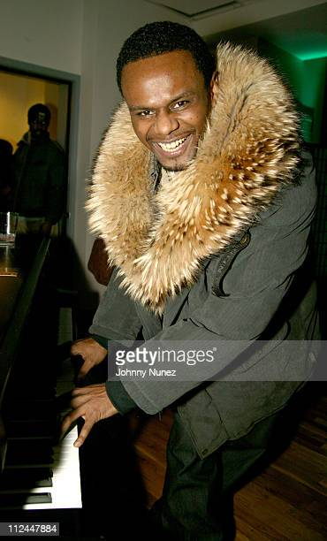Carl Thomas during Groovevoltcom and Atlantic Records Presents Tweet at The Hit Factory in New York City New York United States