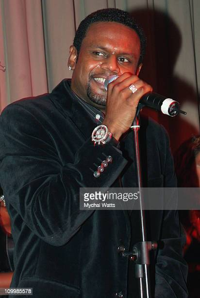 Carl Thomas during The House of Courvoisier Presents a Special Performance by Carl Thomas November 26 2005 at The Altman Building in New York New...