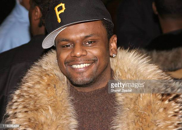 Carl Thomas during Tim Thomas of New York Knicks' Birthday Party February 23 2005 at Show in New York City New York United States
