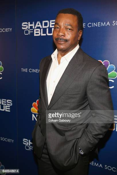 Carl Weathers attends NBC and The Cinema Society Host the Season 2 Premiere of 'Shades of Blue' on March 1 2017 in New York City