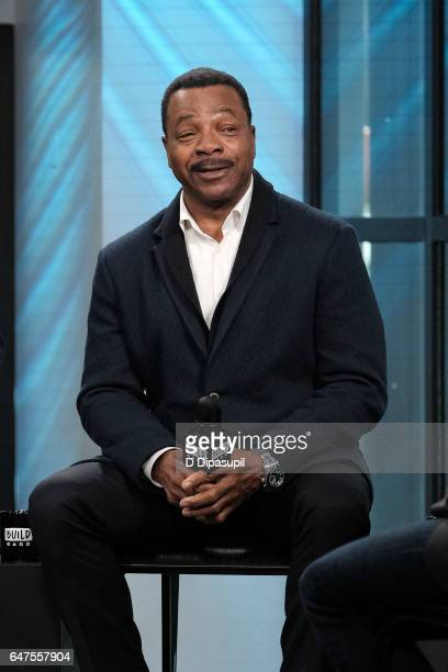 Carl Weathers attends the Build Series to discuss 'Chicago Justice' at Build Studio on March 3 2017 in New York City