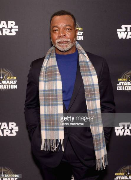 Carl Weathers attends The Mandalorian panel at the Star Wars Celebration at McCormick Place Convention Center on April 14 2019 in Chicago Illinois