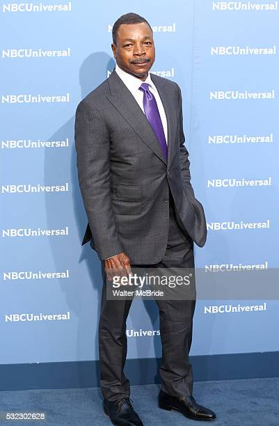 Carl Weathers attends the NBCUNIVERSAL 2016 Upfront presentation at Radio City Music Hall on May 16 2016 in New York City