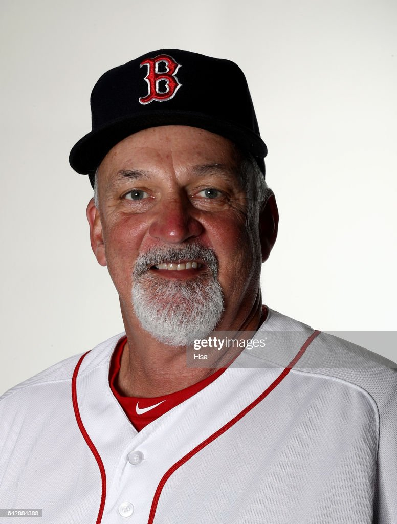 Carl Willis #54 of the Boston Red Sox poses for a portrait during the Boston Red Sox photo day on February 19, 2017 at JetBlue Park in Ft. Myers, Florida.