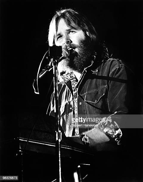 Carl Wilson from The Beach Boys performs live on stage in Amsterdam, Netherlands in 1971