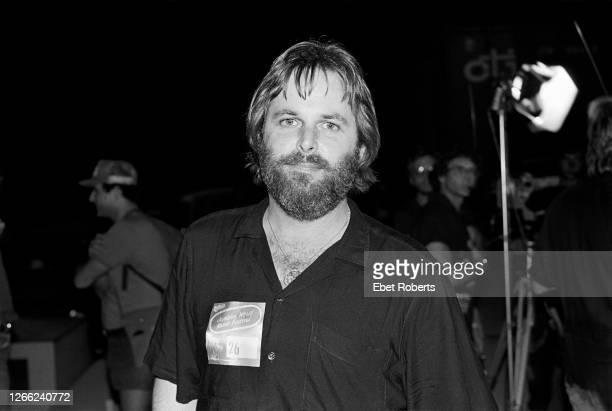Carl Wilson of The Beach Boys at the Jamaican World Music Festival in Montego Bay, Jamaica on November 26, 1982.