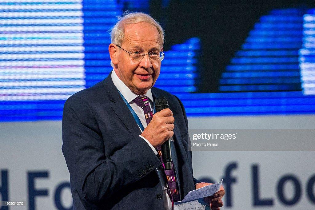 Carl Wright, Secretary General, Commonwealth Local... : News Photo